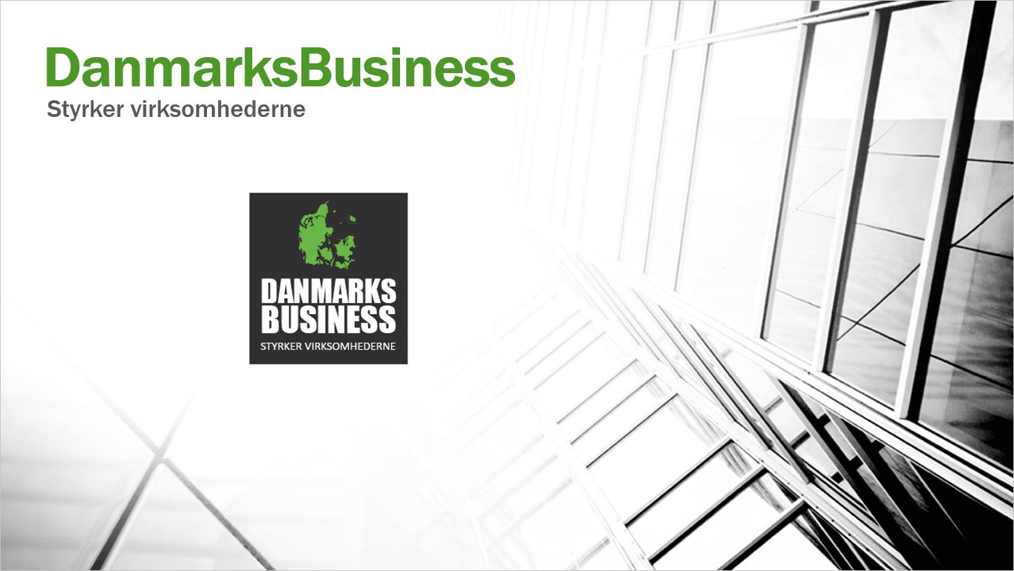Forretningsplan for DanmarksBusiness er klar